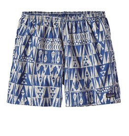 Patagonia M's Baggies Shorts 5in, Tribal Geo: Superior Blue