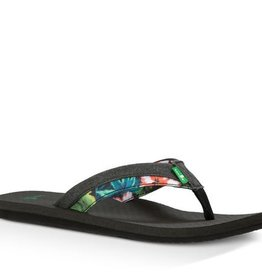 Sanuk M's Beer Cozy Light Funk-Black Hawaiian