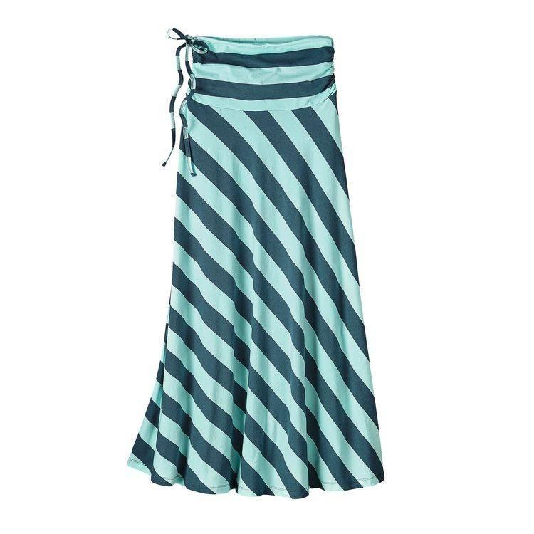 Patagonia Women's Kamala Maxi Skirt, Da Bull: Bay Blue