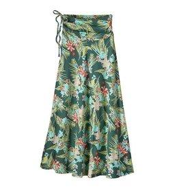 Patagonia W's Kamala Maxi Skirt, Kelp Garden: Gem Green
