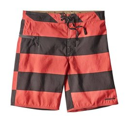 Patagonia M's Wavefarer Board Shorts 19in, Da Bull Big: Spiced Coral