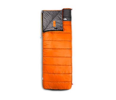 The North Face Dolomite 40/4 Russet Orange/Grey, REG. Sleeping Bag