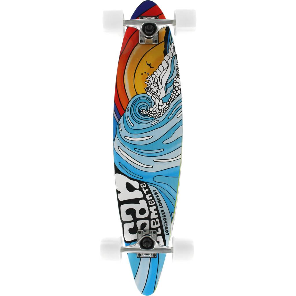Eastern Skate Supply San Clemente Stained Glass III Mini Pin Complete-7.75X33