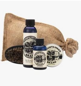 Mountaineer Brand Complete Beard Care Kit, Citrus Spice