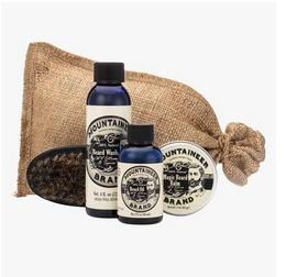 Mountaineer Brand Complete Beard Care Kit, Citrus Spice