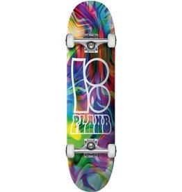 Eastern Skate Supply Plan B Wavy Complete, 8.0 Rainbow