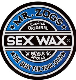 "Eastern Skate Supply Sex Wax Circle 7"" Decal"