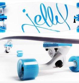 Jelly Skateboards Man O' War 34-Inch Pintail Longboard Complete - Aqua