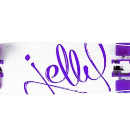 Jelly Skateboards Kingslayer 26-Inch Shortboard Complete Cruiser - Grape