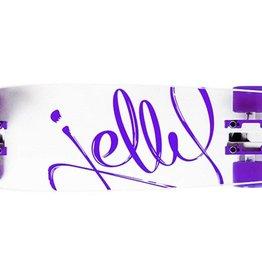 Jelly Skateboards Kingslayer 26-Inch Shortboard Complete Cruiser - Grape
