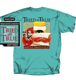 Tried and True Mater Sandwich T-Shirt, Seafoam