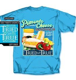 Tried and True Pimento Sandwich T-shirt, Sapphire