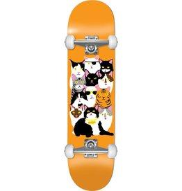 Eastern Skate Supply Enjoi Cat Collage Complete-7.62 Orange