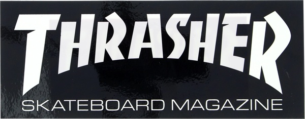 Eastern Skate Supply Thrasher Mag Logo Super Decal Single