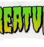 "Eastern Skate Supply Creature Logo Mini Decal 1""x2"""
