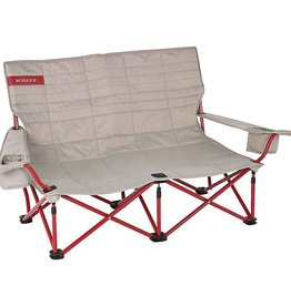 Kelty Low Loveseat, Tundra/Chili Pepper