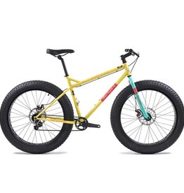 State Bicycle Co. Megalith Deluxe Fat Bike, Yellow