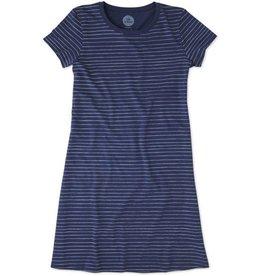 Life is Good W's Tshirt Dress, Painted Stripe