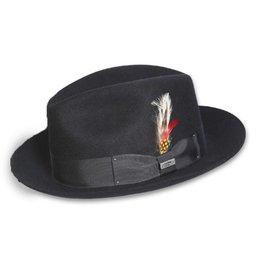 BC Hats Bad Hombre Fedora, Black