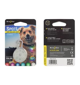 Nite Ize SpotLit LED COLLAR LIGHT Eco Pkg, Disc-O