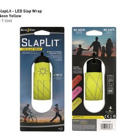 Nite Ize SlapLit LED Slap Wrap, Neon Yellow