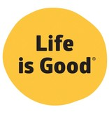 Life is Good LIG Dot Die Cut Sticker