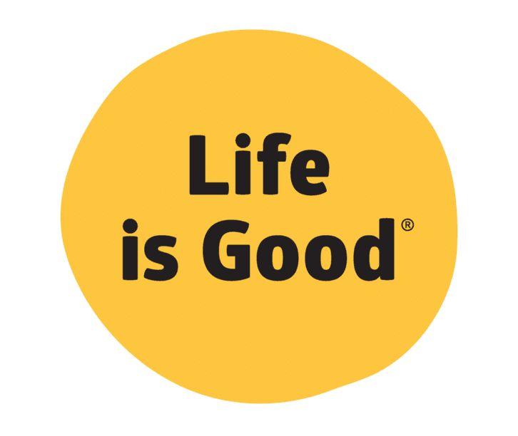 Life is Good LIG Dot Die Cut Sticker