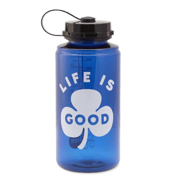 Life is Good Clover Water Bottle