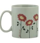 Life is Good Flowers Jake's Mug