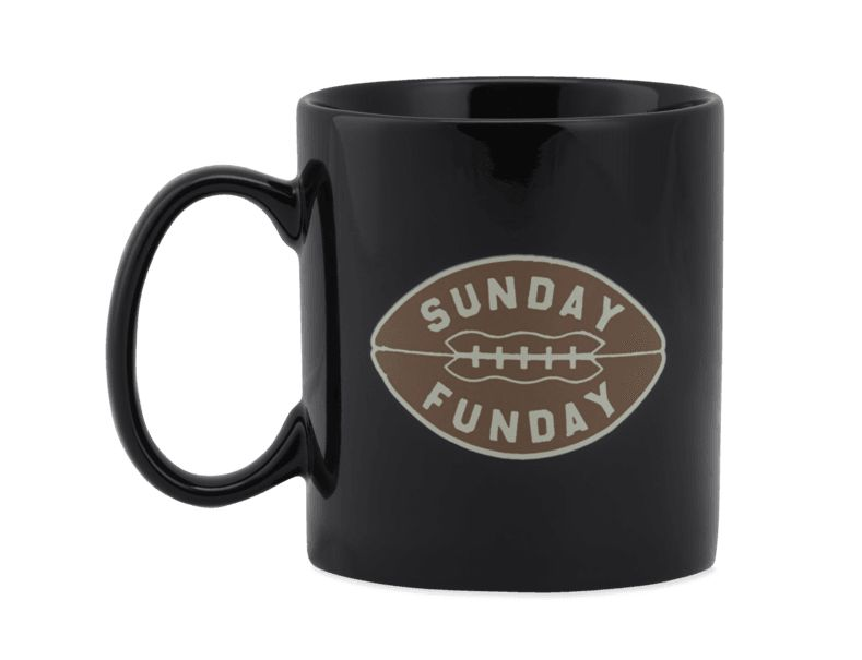 Life is Good Sunday Funday Jake's Mug