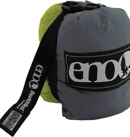 ENO DoubleNest Hammock, Lime/Charcoal