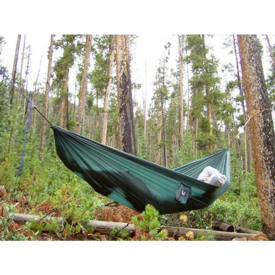 Grand Trunk Double Parachute Hammock, Scales Rasta