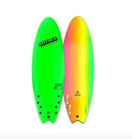 "Catch Surf Odysea Skipper Quad 6'0"", Neon Green"
