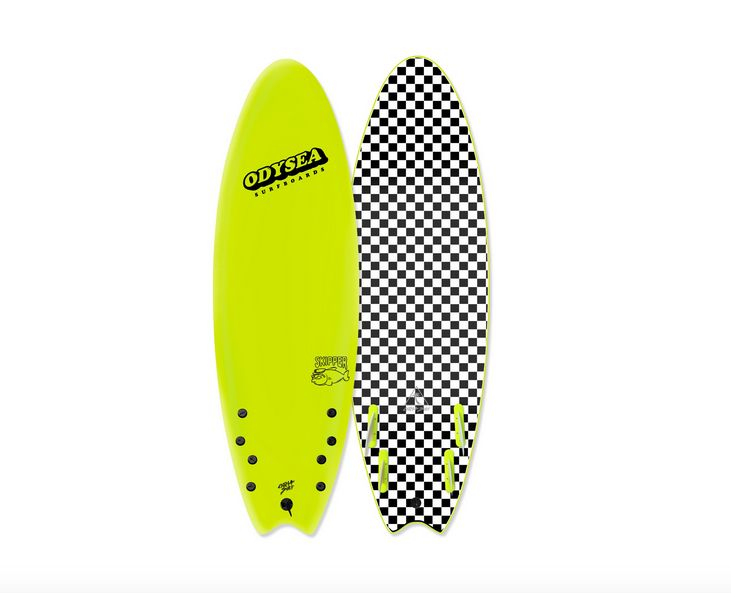Catch Surf Odysea Skipper Quad 6'0, Electic Lemon