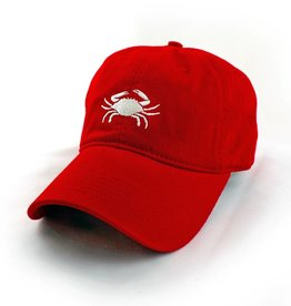 S.L. Revival Co. Crab, Not Your Dad's Hat, Ballcap, Red