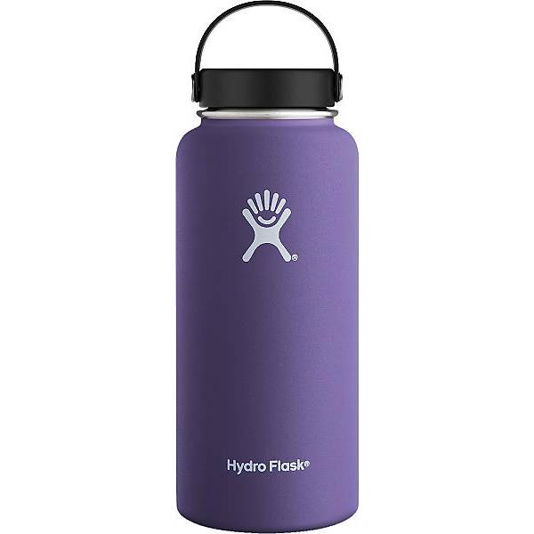 Hydroflask 32 oz Wide Mouth, Plum