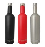 Insulated Wine Bottle, Silver