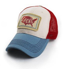 S.L. Revival Co. Patriotic Trucker Hat, Structured, Local USA,