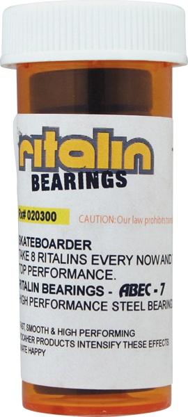 Eastern Skate Supply Ritalin ABEC-7 Gold Bearings