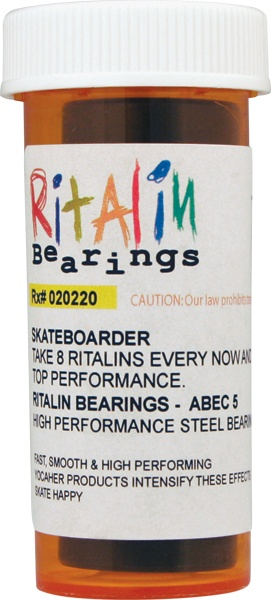 Eastern Skate Supply Ritalin Abec - 5 Blue Bearings