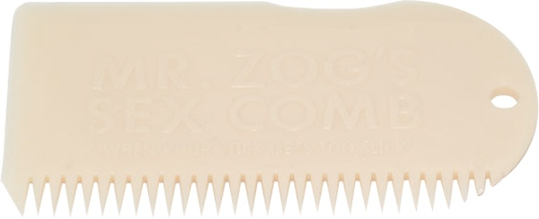 Eastern Skate Supply Sex Wax Wax Comb, Bone White