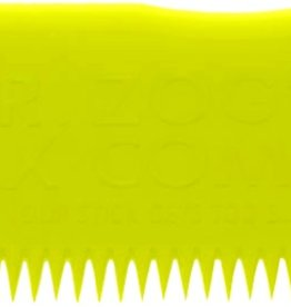 Eastern Skate Supply Sex Wax Wax Comb, Yellow