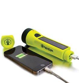 Hybrid Light The Journey 160 Flashlight/Charger, Yellow