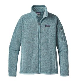 Patagonia W's Better Sweater Jacket, Tubular Blue w/Crevasse Blue