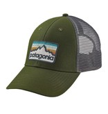 Patagonia Line Logo Badge LoPro Trucker Hat, Glades Green