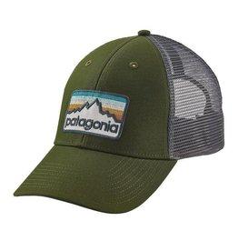Patagonia Line Logo Badge LoPro Trucker Hat, Glades Green