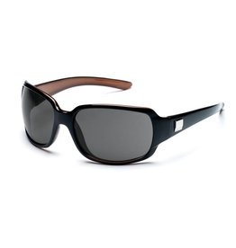 Suncloud Cookie, Black Back Painted/Grey Polarized Sunglasses