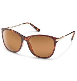 Suncloud Nightcap, Tortoise, Brown Polarized Sunglasses