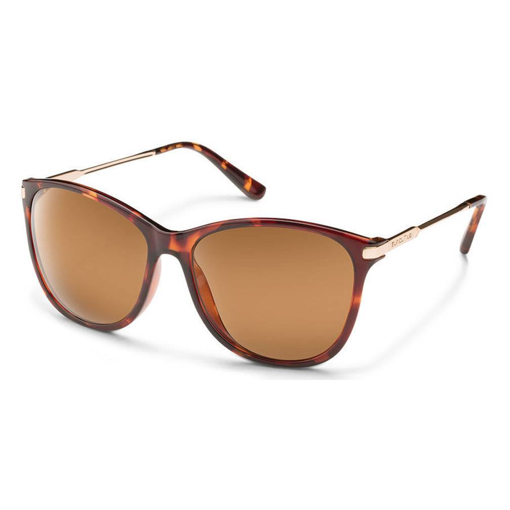 Suncloud Nightcap, Tortoise, Brown Polarized Sunglasses