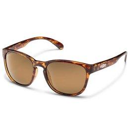 Suncloud Loveseat, Tortoise, Sienna Mirror Polarized Sunglasses